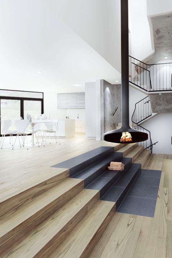 interni di design case di paglia