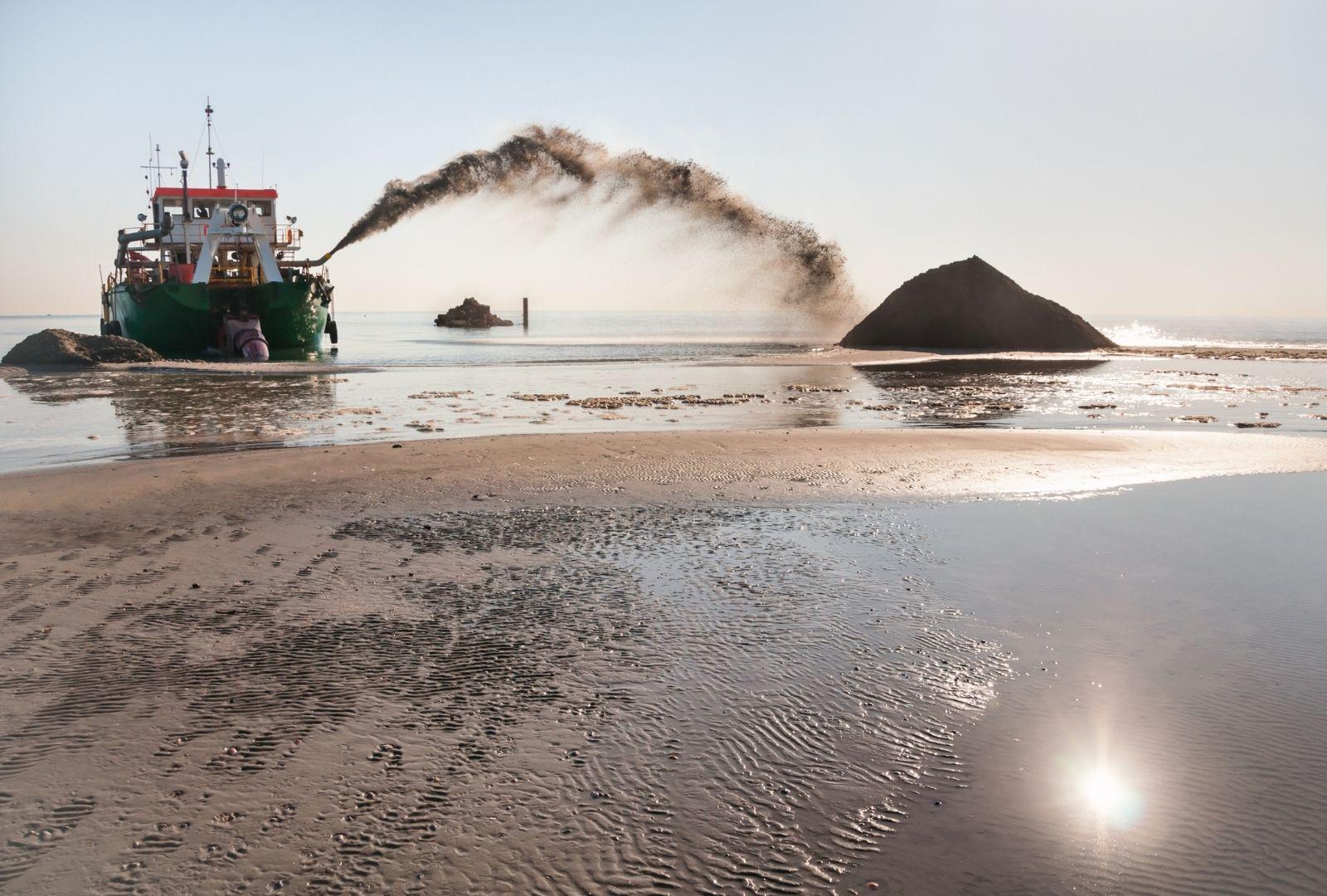 dragaggio sabbia edilizia